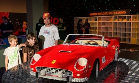 Brickman Experience car display