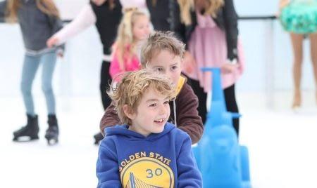 skating kiddos in Ringwood