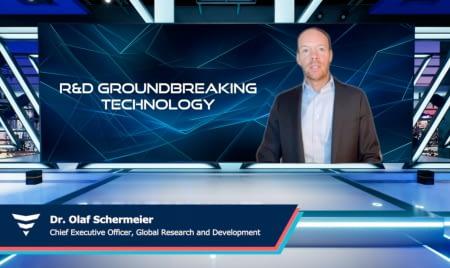 R&D groundbreaking teachnology dr olaf schermeier