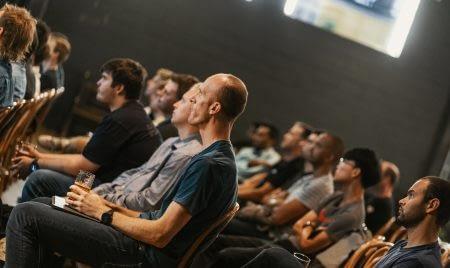JetBrains Meetup listeners