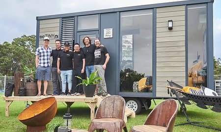 Guest speakers at Tiny Homes Carnival