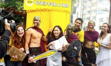 Strip For a Trip participants