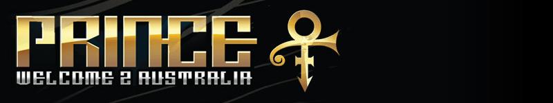 Prince Australian Tour Banner