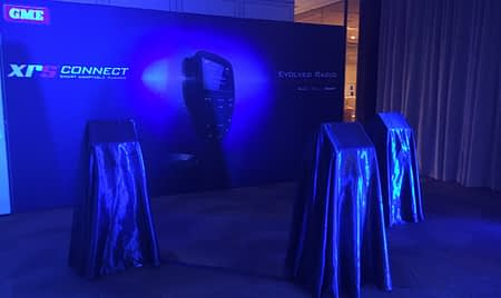 XRS Connect Launch Display