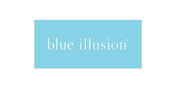 Alive Blue Illusion Logo