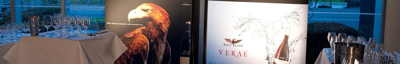 Wolfblass Luxury Release Glasses