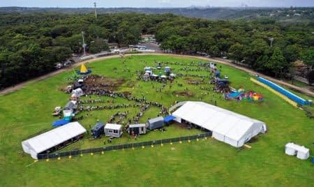 Tiny Homes Carnival - Aerial View