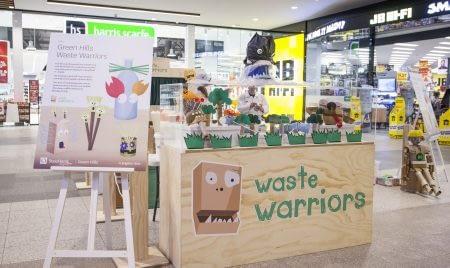 Waste Warriors stall