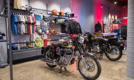 Ride & Store Launch display