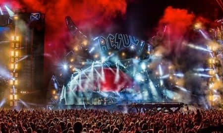AC/DC Australian Tour Stage and Crowd