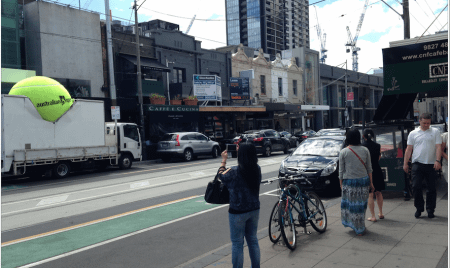 Australian Open Launch street shot