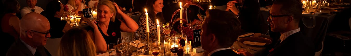 Corrs Chambers Westgarth Candle Light Dinner