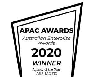apac awards Australian Enterprise Awards 2020 winner agency of the year Asia-Pacific