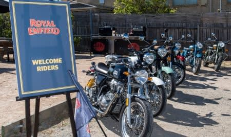 Royal Enfield Media Ride and Store Launch