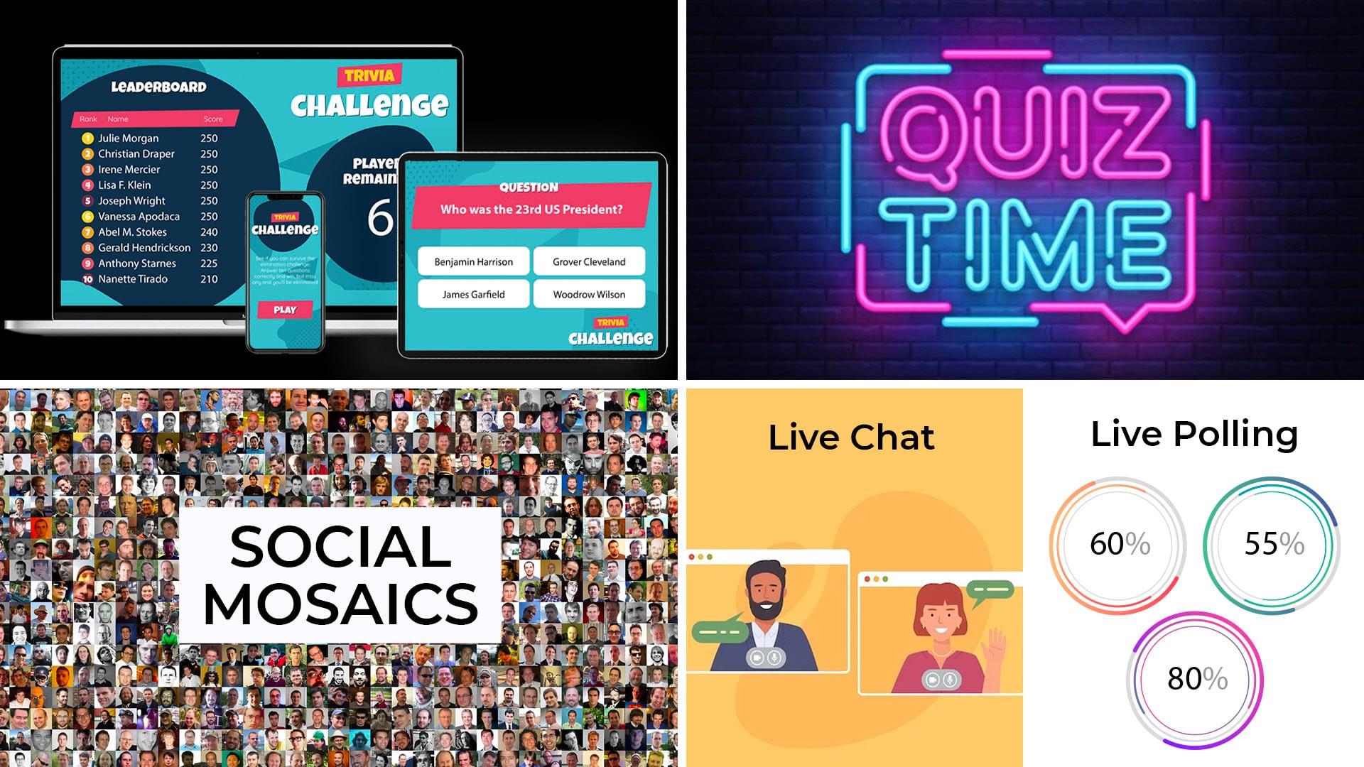 Alive TV - Custom Interactivity - Quiz Time