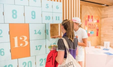vibrant and interactive campaign for Northpoint