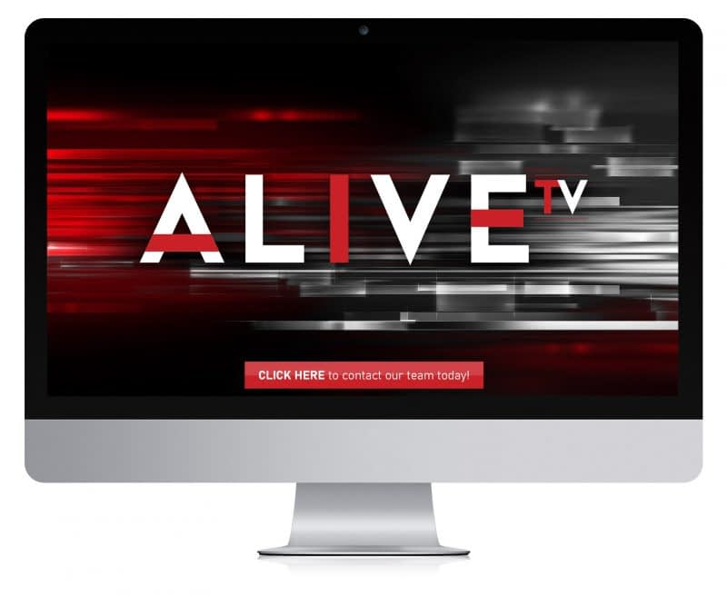 Alive TV on Monitor