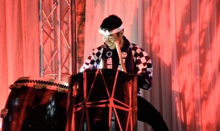 Premier's Multicultural Awards Drummer