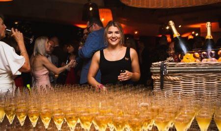 W Premiere Party cocktails