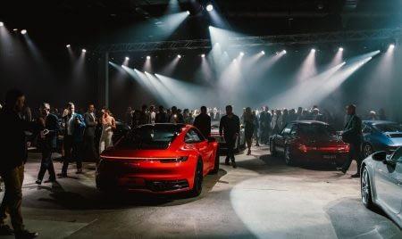 New Porsche 911 Car