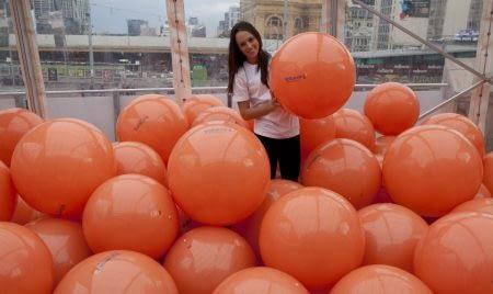 Voltaren Pain Management balloons