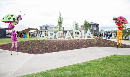 Arcadia Display Village Launch - Satterley
