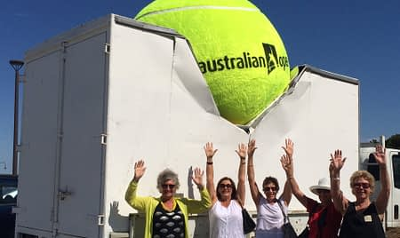 tennis ball australia