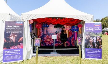 Allianz Deepavali Festival Setup